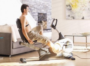 What muscles does an exercise bike work?