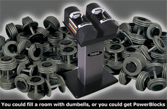 4 Benefits Of PowerBlock Adjustable Dumbbells