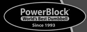 THE  POWERBLOCK DUMBELL SERIES