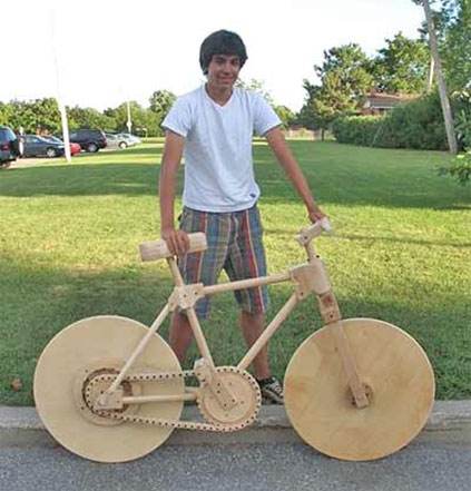 Top 10 Bizarre Do-It-Yourself Bicycles