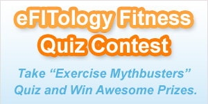 eFITology Exercise Mythbuster Quiz Contest