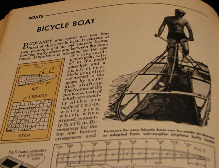 Bicycle Boat