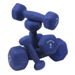 Hampton Neoprene Hex Dumbbells