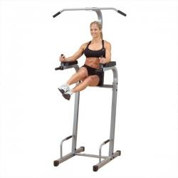 Body Solid PVKC83X Powerline Vertical Knee Raise Chin Dip (VKR)