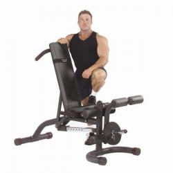 Body Solid FID46 Olympic Leverag Bench