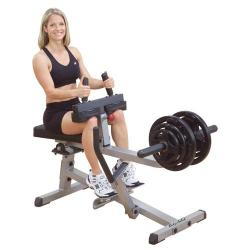 "Body Solid GSCR349 2""x3"" Seated Calf Raise Machine"